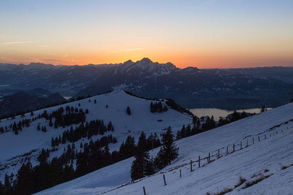 Bild-Nr. 12664770 / Sonnenuntergang auf der Rigi