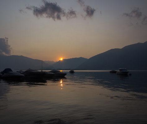 Bild-Nr. P7088811 / Abendstimmung am Lago Maggiore