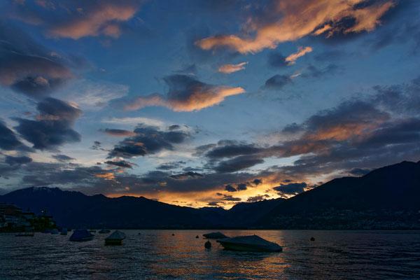 Abendstimmung am Lago Maggiore