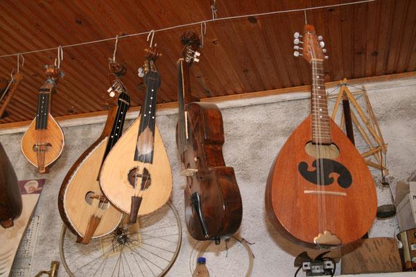 Griechische Musikinstrumente