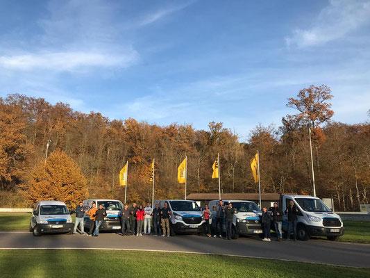 Raisch Fliesen Stuttgart & Ostfildern - ADAC Fahrsicherheitstraining für das gesamte Team. www.raisch-fliesen.de - spannend und lehrreich