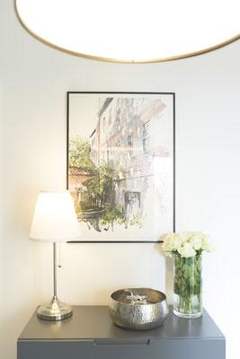Flurboden floral - ausdrucksstarke Fliesen mit Charme von Raisch Fliesen, Stuttgart und Ostfildern - Detail mit Charme