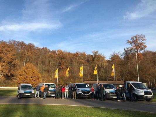 Raisch Fliesen Stuttgart & Ostfildern - ADAC Fahrsicherheitstraining für das gesamte Team. www.raisch-fliesen.de - mit dabei