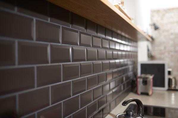 Fliesenlegerfachbetrieb Fliesenfachgeschäft Matthias Raisch Referenzen: Neues Bad & neue Küche in altem Fabrik Loft