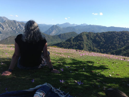 Ruta a Cuevallagar (o Cuellagar), Paisajes de Proaza-Yernes y Tameza--Teverga y Grado. Asturias