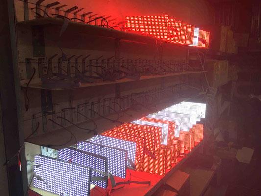 ремонт светодиодных бегущих строка