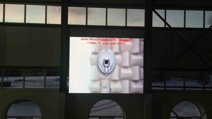 светодиодный экран Уфа, Р5 2х3 метра