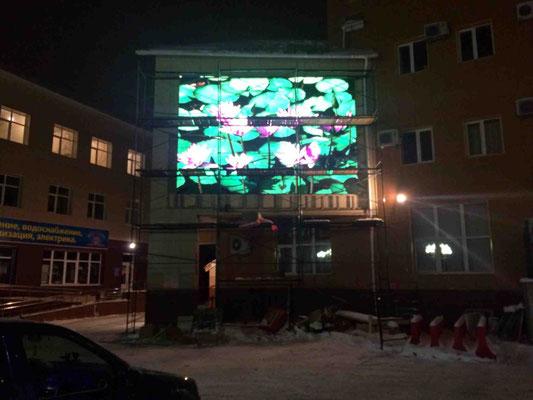 Светодиодный экран на стену
