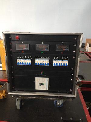 Дистрибьютер питания для светодиодного экрана