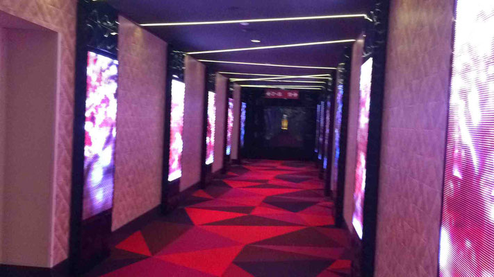 светодиодные экраны в кинотеатре Люксор, ТЦ Вегас, Москва
