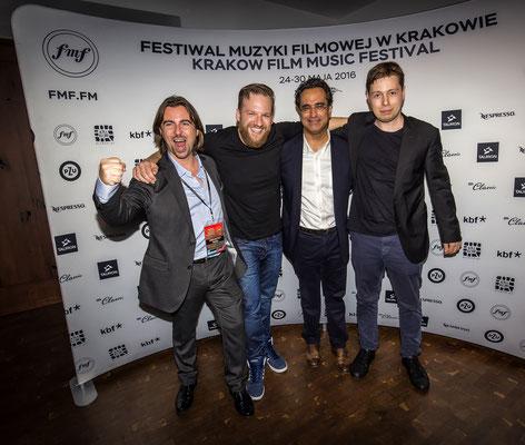 Capture The Flag Team - Producer Pedro J Mérida, Orchestrators Matthijs Kieboom & Jan Sanejko, Composer Diego Navarro