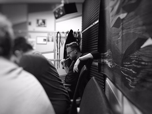 Orange Fever Recording Session @ Smecky Music Studios - Matthijs Kieboom Picture MMJ