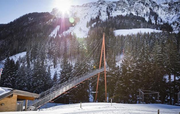 Winter activities in Saalbach