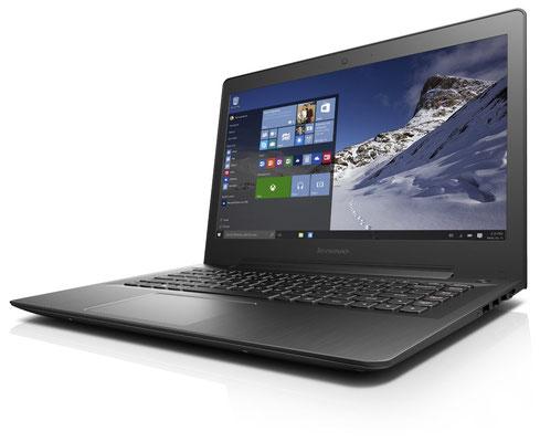 Lenovo ideapad 500S, Intel Core i3-6100U, 2,3GHz, 4GB RAM, Hybrid 500GB HDD + 8GB SSHD, Intel HD Grafik 520, ca. 449€