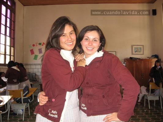 Camila tú aceptación fue siempre una aliada para mi autoestima. Mi mamá te recuerda con cariño. Centro María Auxiliadora 2007