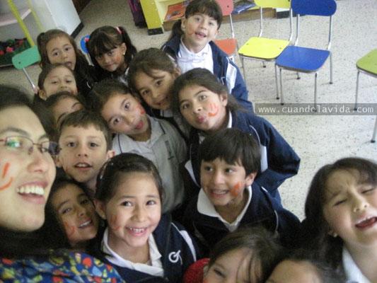 Día de la paz. Transición-B. Colegio Teresiano. 2015