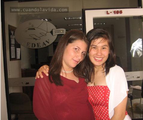 Ana María, han sido varios años los que compartimos, desde la infancia hasta la U. Gracias por estar ahí siempre y motivarme a lograr mis sueños.