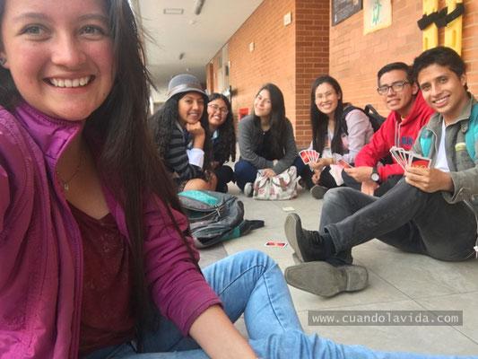 Momento de integración con los estudiantes de Semilleros Talentos