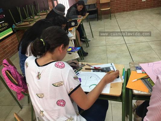 """Taller """"El camino hacia la felicidad"""" Semilleros Talentos de la Fundación Cavelier con la Universidad de La Sabana. 2018"""