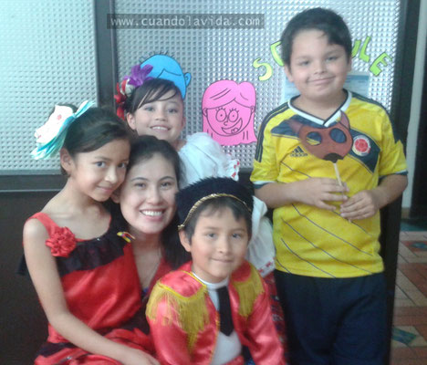 Representación Feria de Manizales. Gimnasio Henry Fayol. 2014