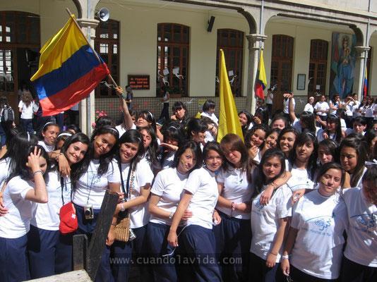 Toma de la Paz. Centro María Auxiliadora. 2007