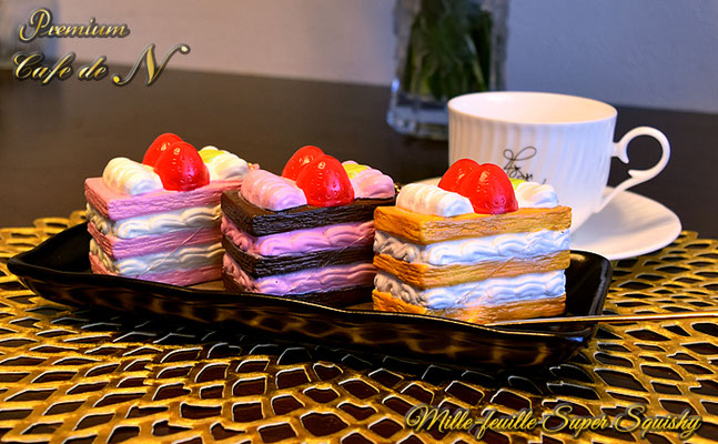Cafe de N Premium Mille-feuille Super Squishy