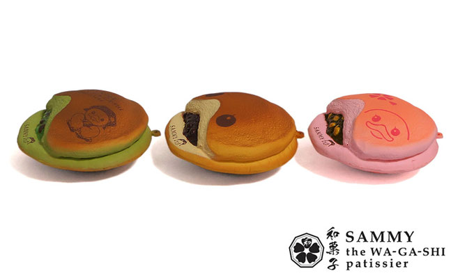 Sammy the Wagashi Patissier Dorayaki Squishy