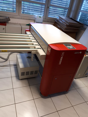used 4 up thermal ctp system agfa acento s screen 4300 s for sale gebrauchtes 4 up thermal