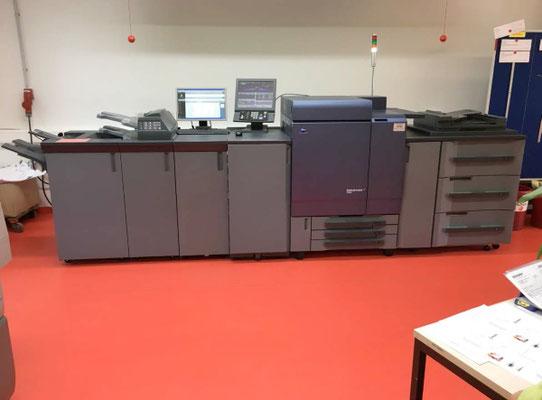SOLD: Offer user digital printing machine Konica Minolta Bizhub