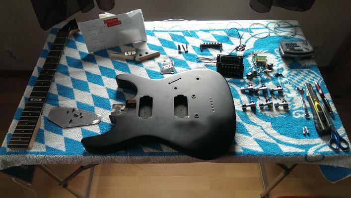 Neuaufbau ESP LTD M-10 - mv-creative-guitarss Webseite!