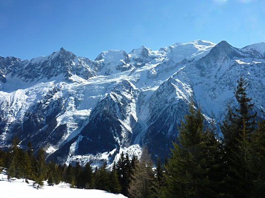 le massif du Mt Blanc