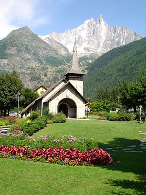 Chapelle des TInes Chamonix