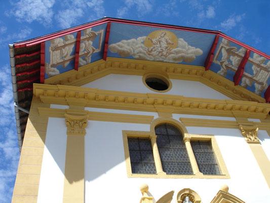 Eglise baroque de St Nicolas de Véroce