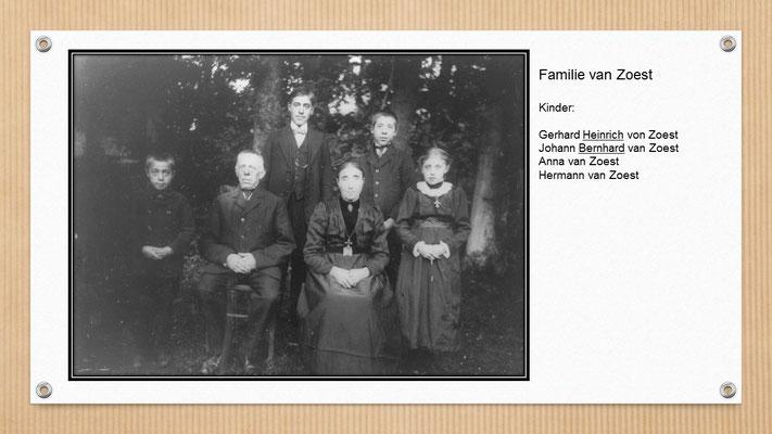 Opa (l. o.) mit Eltern und Geschwister