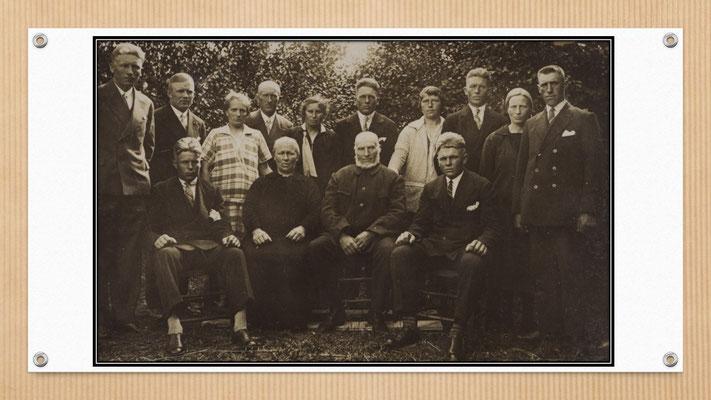 ...und Schwiegerkindern (Fotos ca. 1939)