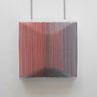 """""""tout n'est qu'illusion"""" pendentif © 2013"""