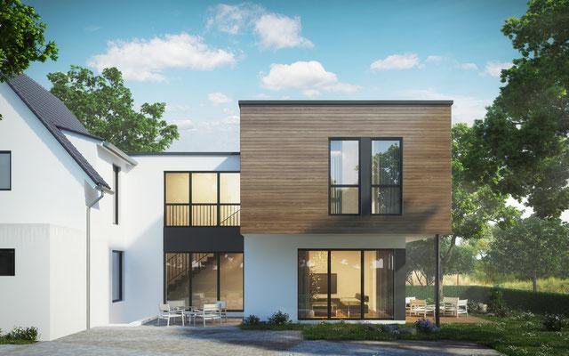 anbau an ein siedlungshaus in duisburg griess osten architekt. Black Bedroom Furniture Sets. Home Design Ideas