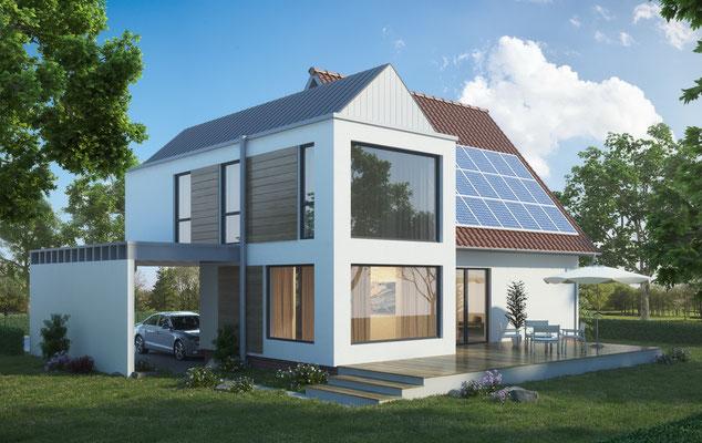moderner anbau in holzrahmenbau griess osten architektur. Black Bedroom Furniture Sets. Home Design Ideas