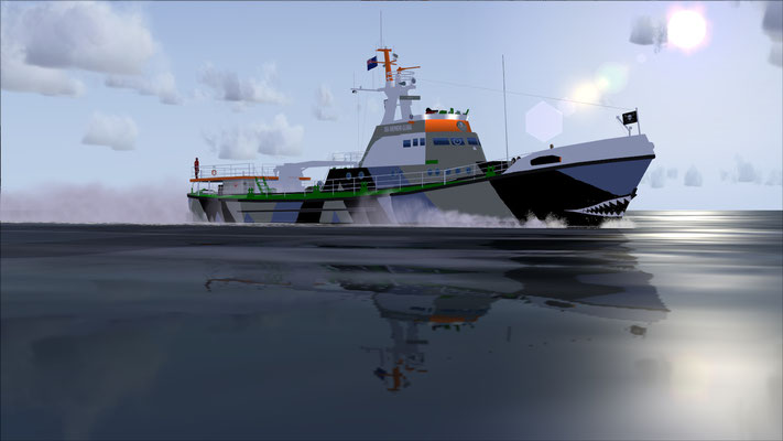 Sea Shepherd Global boat repaint for FSX