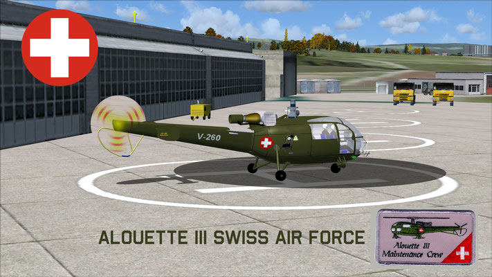 Alouette III Swiss Air Force