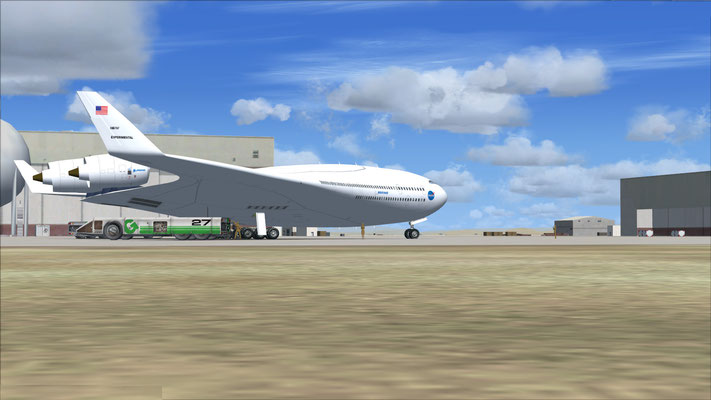 NASA Boeing B-797 Flying Wing project for FSX