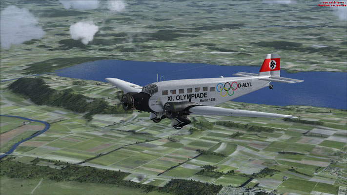 Junkers 52-3m serial number 6595 Lufthansa XI. Olympiade Berlin 1936 for FSX