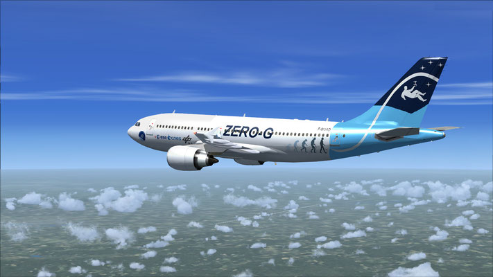 Airbus A310-300 Zero-G repaint for FSX