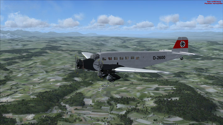 Junkers 52-3m serial number 6595 Valkyrie (movie) for FSX