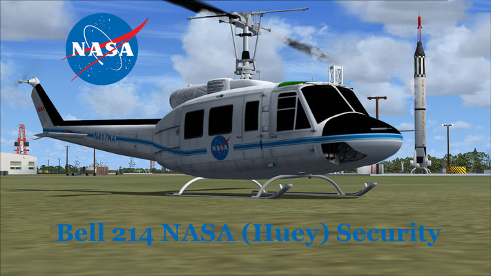 Bell 214 NASA (Huey) Security for FSX