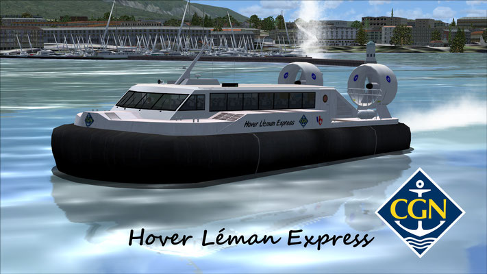 Hovercraft Textures Pack / Hover Léman Express (Fictional)