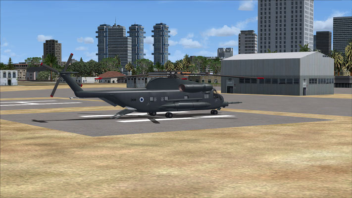 Sikorsky CH-53 Pavelow Israel Air Force repaint for FSX
