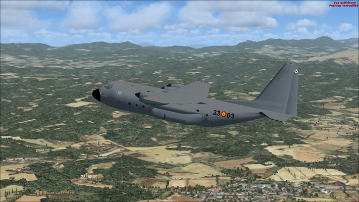 Spanish Air Force C-130 Hercules repaint for FSX