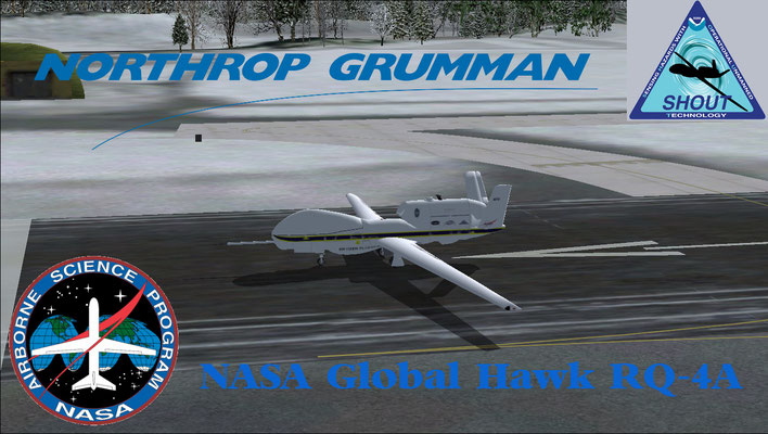 NASA Global Hawk RQ-4A for FSX