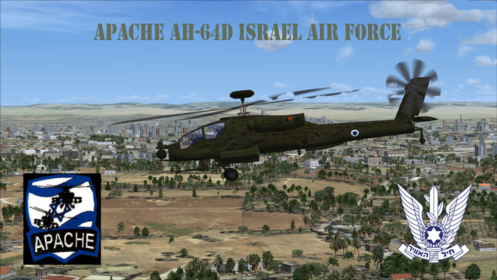 Apache AH-64D Israel Air Force for FSX